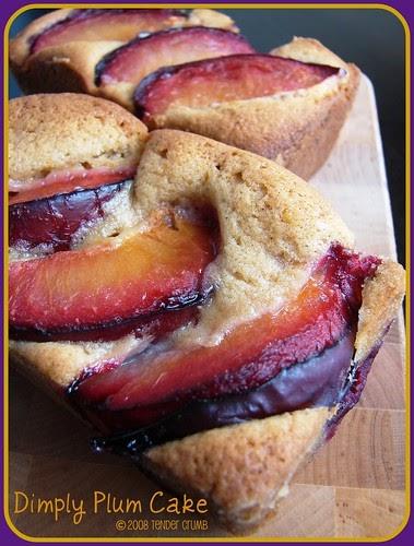 TENDER CRUMB: Dimply Plum Cake (TWD)
