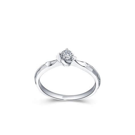 Queenly Inexpensive Solitaire Engagement Ring 0.33 Carat