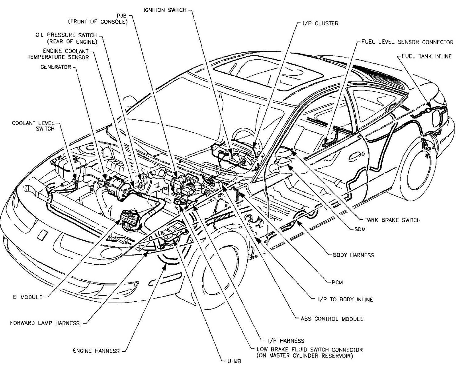 1993 Saturn Sl2 Engine Diagram
