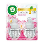 Air Wick Scented Oil Refills, White Lilac, Air Freshener, Twin Pack, 1 Ea