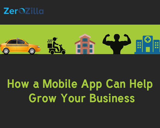 Top 5 Ways Your Business Can Grow with a Mobile App