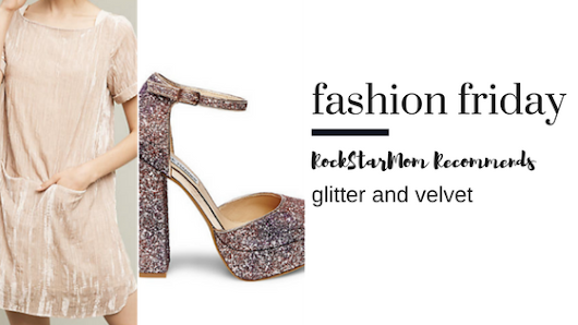 Fashion Friday:: All that Glitter and Velvet - RockStarMom Las Vegas