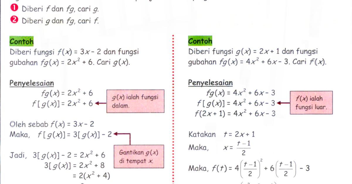 Soalan Ulangkaji Matematik Tingkatan 2 Kssm - Contoh Win