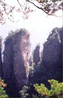 湖南张家界,1999