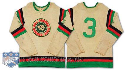 Quebec Aces 51-52 jersey, Quebec Aces 51-52 jersey