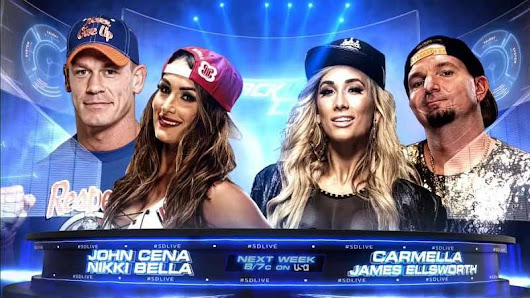 Image: WWE News: John Cena and Nikki Bella taking on James Ellsworth and ...