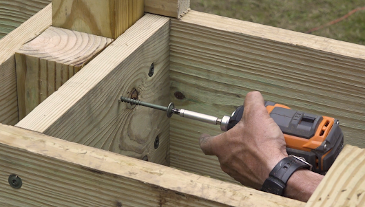 Building a Deck Video: How to install guard posts