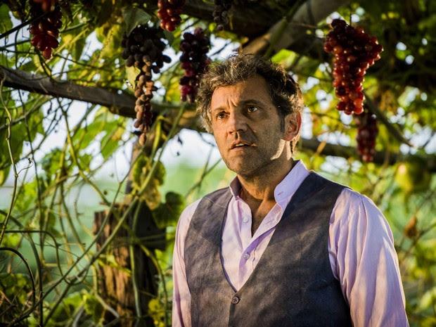Domingos Montagner como o personagem Santo, da novela 'Velho Chico' (Foto: Caiuá Franco/TV Globo)