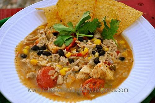 Chicken Fajita Chowder