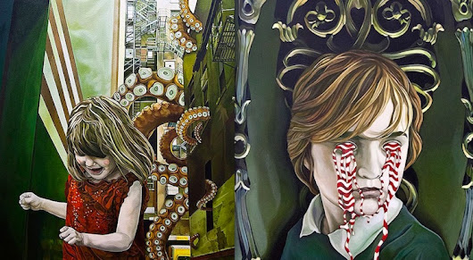 Uncanny worlds and bad dreams: The strange, surreal, and macabre paintings of Jolene Lai