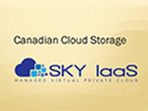 Cloud Storage in Canada Toronto