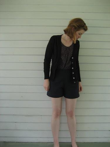 new linen shorts