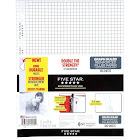 Five Star Reinforced Graph Ruled Filler Paper, White - 100 count