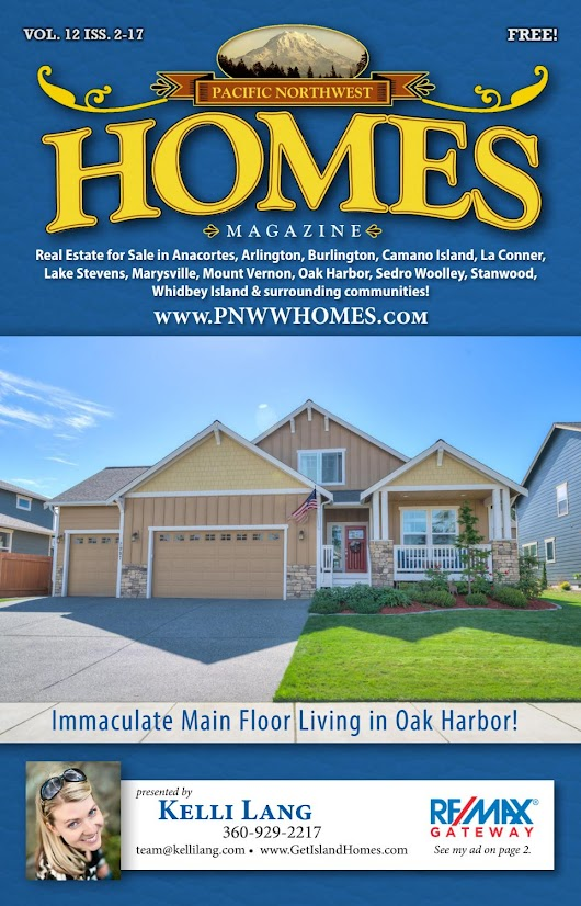 Pacific NW Homes - Skagit, Island & Snohomish, Issue 2-17