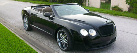 Homemade Bentley copy. (Nolfi_Motors/eBay)
