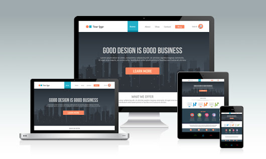 I will design a responsive website