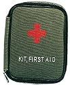 Military Zipper First Aid Kits - Olive