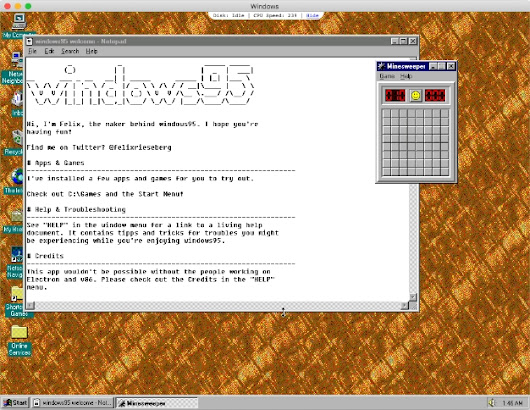 You Can Now Download Windows 95 v2.0 With Integrated Doom And Wolfenstein 3D For Mac, Windows or Linux Rigs