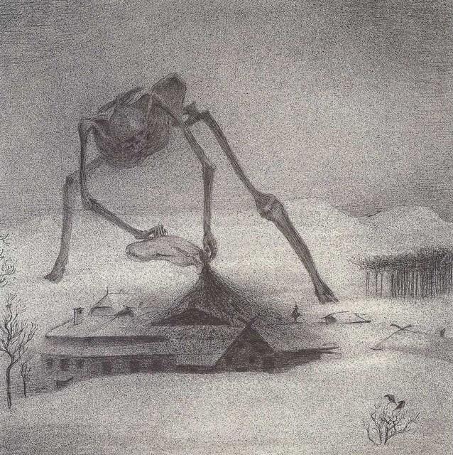 Alfred Kubin - Epidemic, 1900-01