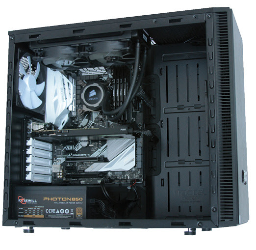 Xi MTower PCIe Workstation: An Overclocked Performance Champ - Digital Engineering