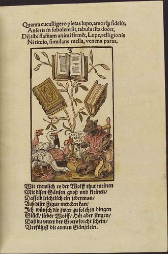 Three of Books (Jost Amman)