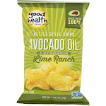 Good Health Kettle Chips - Avocado Oil Lime Ranch - Case Of 12 - 5 Oz.