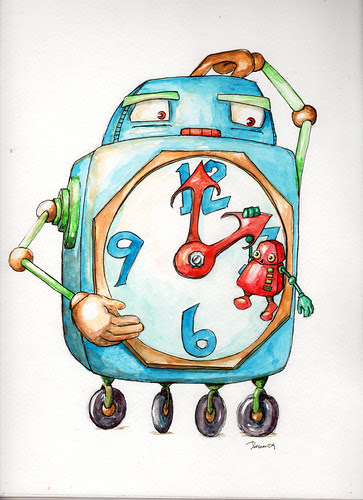"Latest Watercolor - ""Hangtime"""