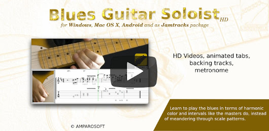 Blues Guitar Lead Concepts/Blues Guitar Soloist | amparoSoft