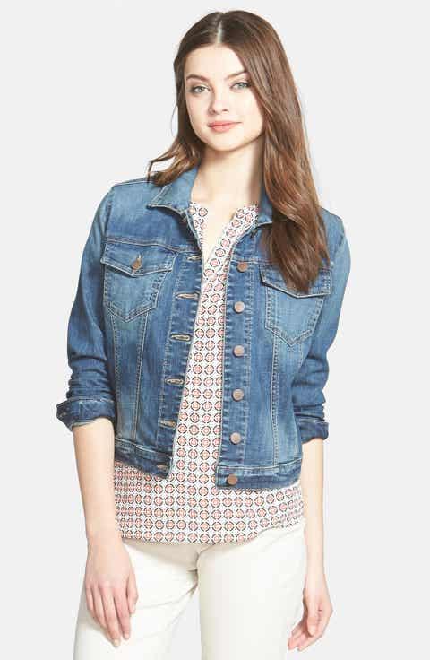 jean jackets denim jackets  vests for women  nordstrom
