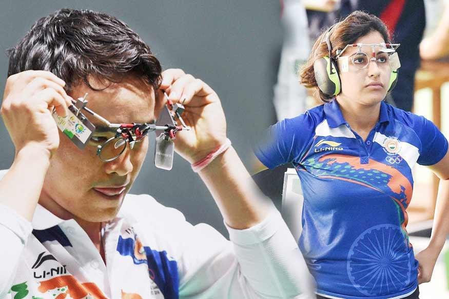 ISSF World Cup: Jitu Rai, Heena Sidhu Win 10m Pistol Mixed Team Gold