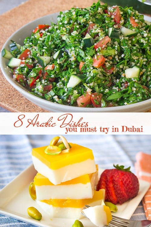 8 Arabic Dishes You Shouldn't Miss When Visiting Dubai