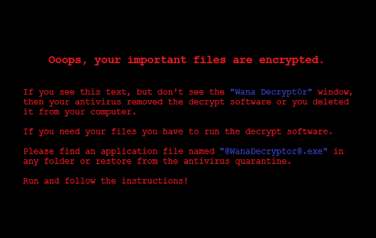WanaCrypt0r ransomware hits it big just before the weekend - Malwarebytes Labs