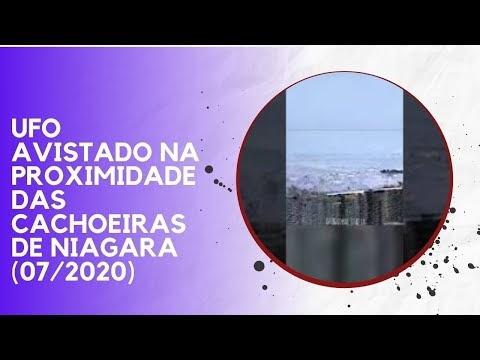 UFO AVISTADO NA PROXIMIDADE DAS CACHOEIRAS DE NIAGARA