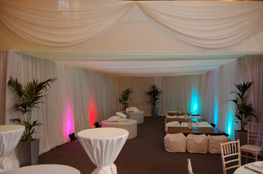 Let creative draping can transform your wedding venue