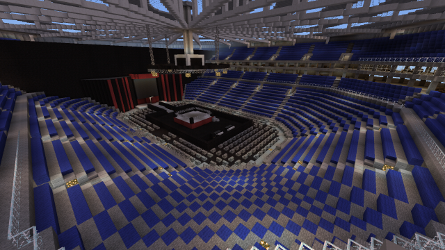 Wwe Raw Arena Creation Minecraft Pe Maps