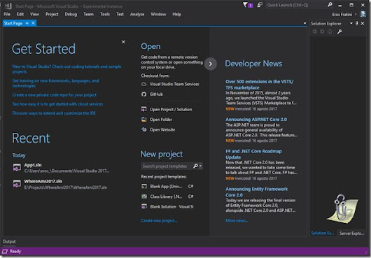 Visual Studio on Twitter