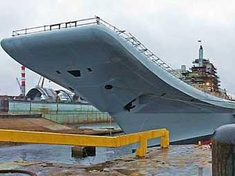 """Авианосец """"Адмирал Горшков"""". Фото с сайта military-today.com"""
