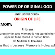 Mind of God- Neuroscience do not know why Memory is Holographic - Original God Consciousness