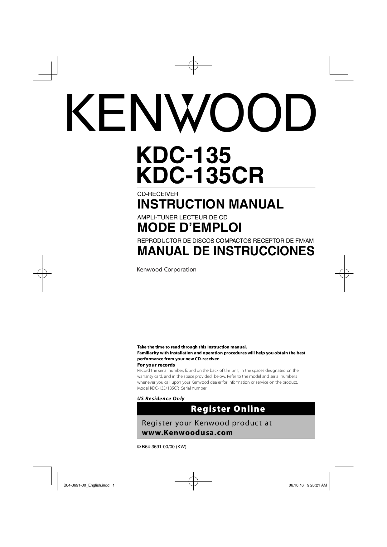 19 New Kenwood Kdc 135 Wiring Diagram