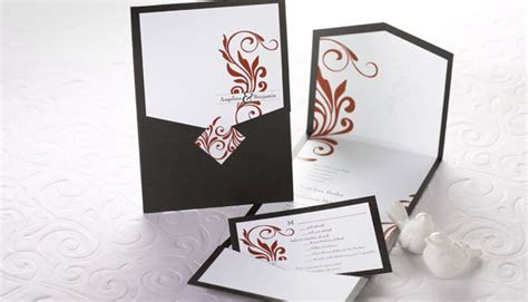 Grand Debut! 2 Pocket Wedding Invitation Types!Grand Debut