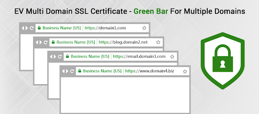 How EV Multi Domain SSL Increases Business Conversion, Saves Money And Time?