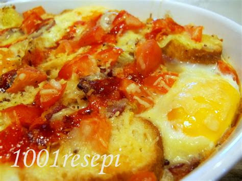 koleksi  resepi simple bread  eggs quiche