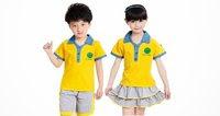 màu áo đồng phục trẻ mầm non