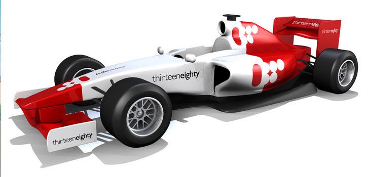 Thirteen Eighty F1 Car 3d Model Thirteen Eighty - f1 car 3d model free download
