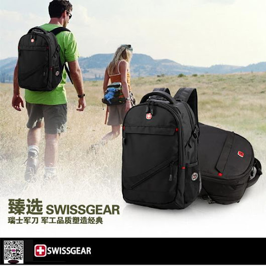 New Swiss multifunctional men lug gage travel bags Wenger computer backpack09
