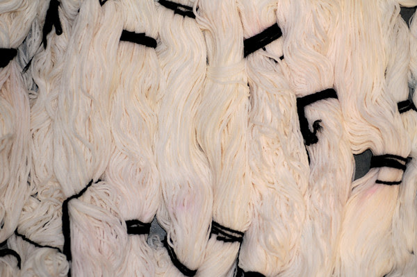 cotton yarn, ready for snow