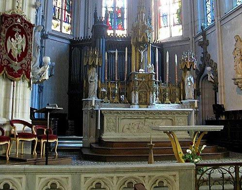 Autel Eglise Ste Croix - Nantes