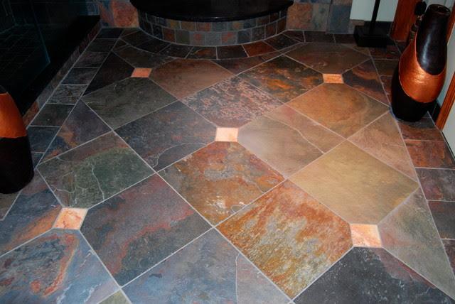 Slate Tile Flooring - Mediterranean - Flooring - by ...