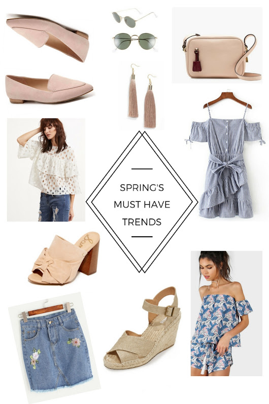 Spring's Must Have Trends - April Was Here
