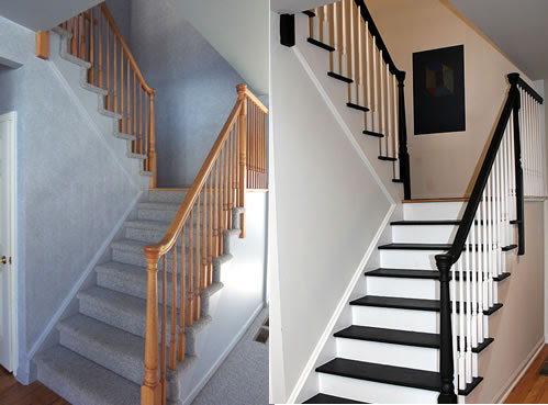 Painting Stairs: DIY FAQs and Tips - Your home, only better.